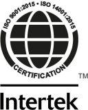 Modexa Intertek ISO 9001:2015 • ISO 14001:2015 Certification